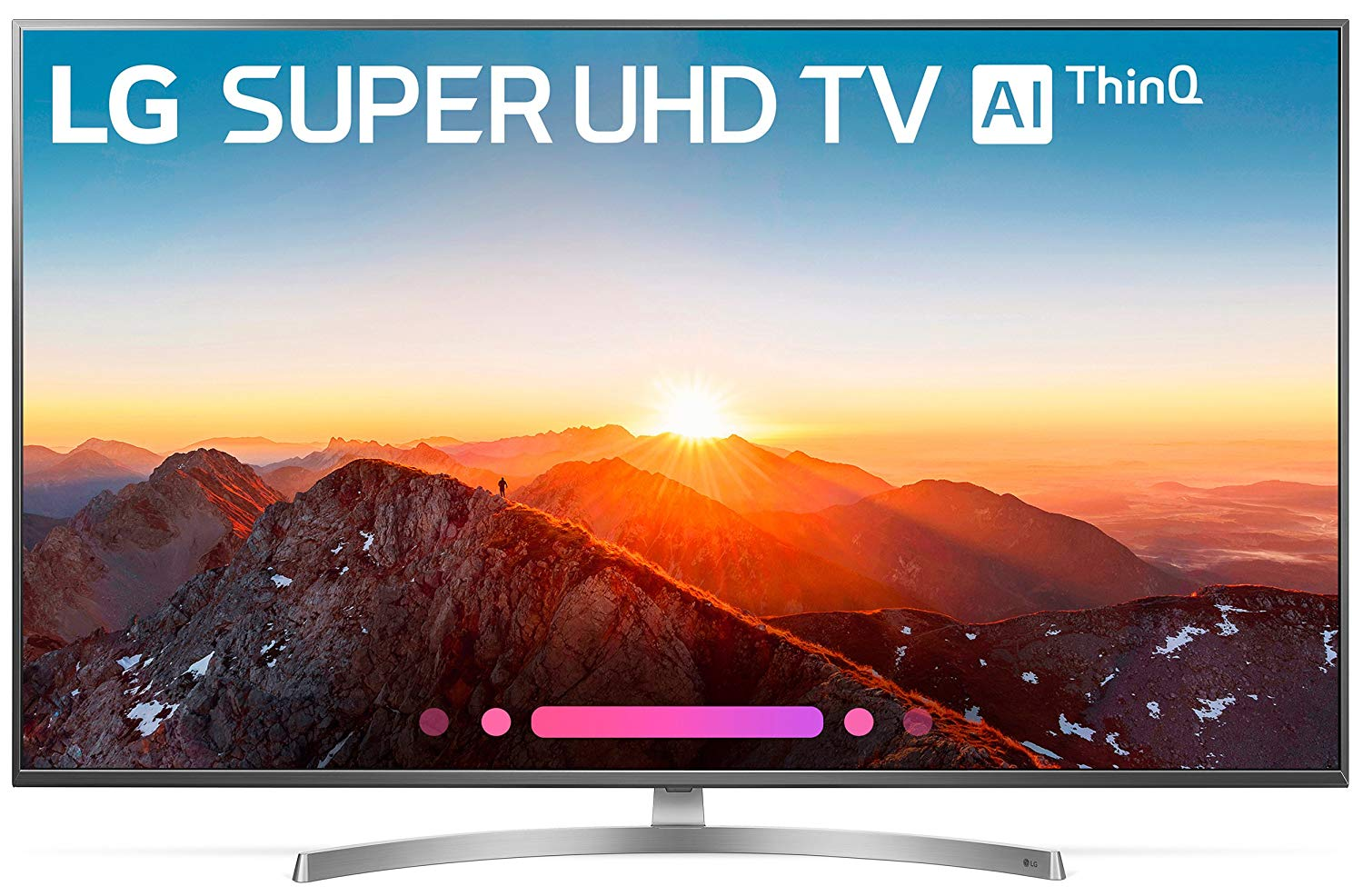 LG Electronics 55SK8000 55-Inch 4K Ultra HD Smart LED TV (2018 Model)