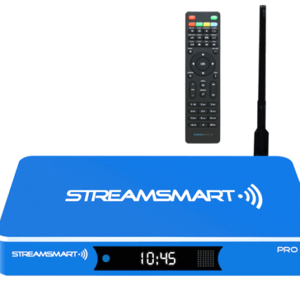 DISCOUNT STREAMSMART PRO QUAD CORE ANDROID STREAMING MEDIA PLAYER KODI WI-FI 4K 8GB