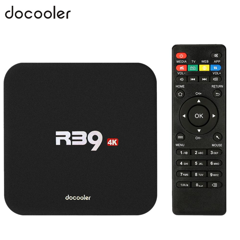 Android Streaming TV box R39 Smart Android 6.0 TV Box RK3229 Quad Core UHD 4K 1G / 8G Mini PC WiFi