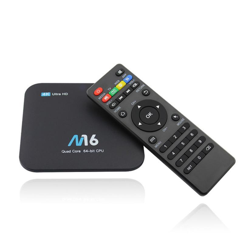 Android kodi box M16 Android 7.1 Amlogic S905X KODI 17.4 Android Smart TV BOX 1GB+8GB / 2GB+8GB / 2GB+16GB 4K WIFI LAN VP9 H.265 HDMI 2.0 MINI PC