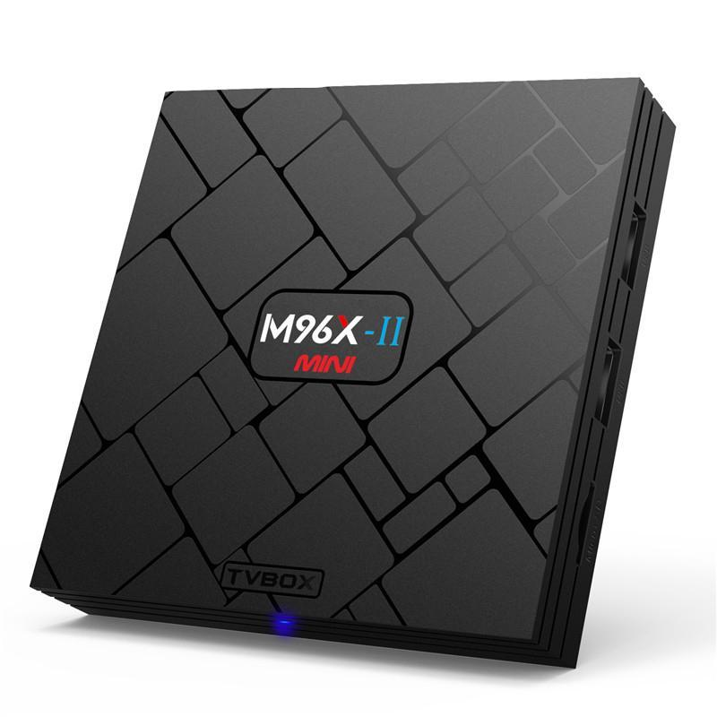 Android kodi box M96X-II Smart TV Box 2GB 16GB Android 7.1 Kodi 17.3 Media Player S905x Quad Core Wifi 4K Internet TV Set-top Box IPTV mini pc
