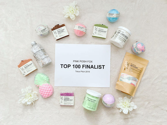 Pink Posh Fox is a Telus Pitch 2019 Top 100 Finalist