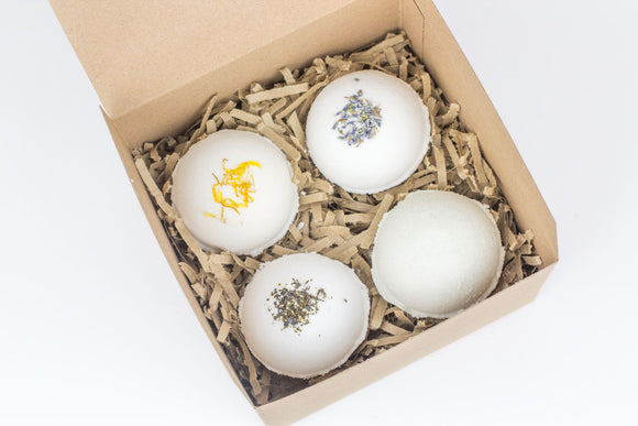 Bath Bomb Gift Set | Self-Care Kit Collection - Pink Posh Fox