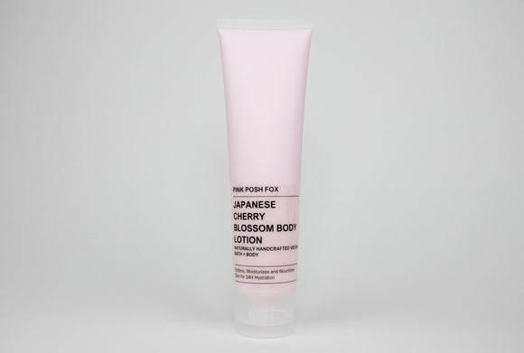 Japanese Cherry Blossom Shea Body Lotion - Pink Posh Fox