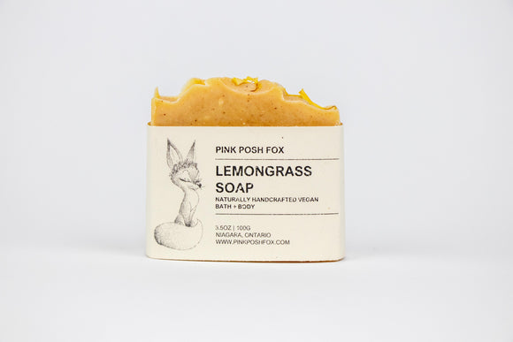 Lemongrass Soap - Pink Posh Fox