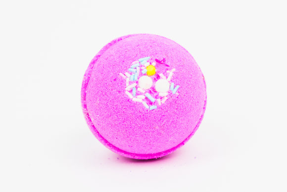 Pink Sugar Sprinkles Bath Bomb - Pink Posh Fox