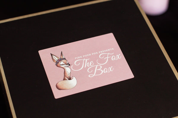 The Fox Box - Pink Posh Fox