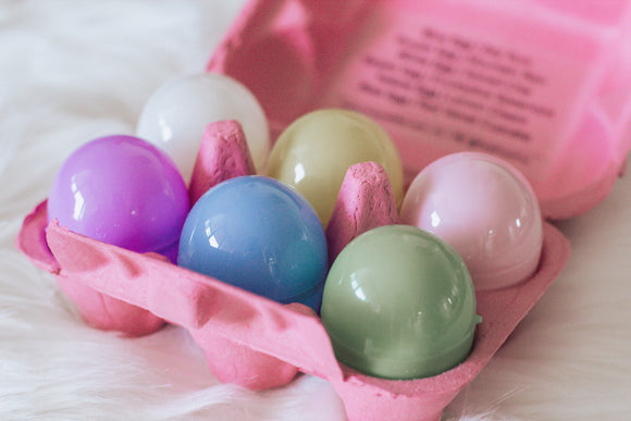 Easter Egg Bath Bombs | Half Dozen - Pink Posh Fox