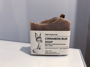 Cinnamon Bun Soap - Pink Posh Fox