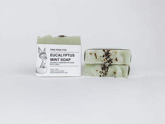 Eucalyptus Mint Soap - Pink Posh Fox