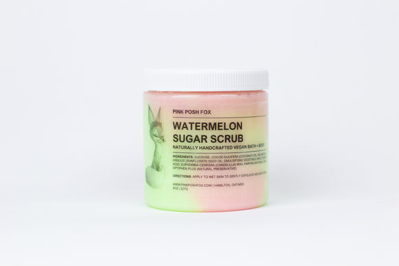 Watermelon Sugar Scrub - Pink Posh Fox