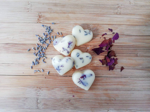 Lavender & Rose Lotion Bars - Pink Posh Fox