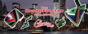 Cosmopolitan inlay jewelry by Kelly Charveaux