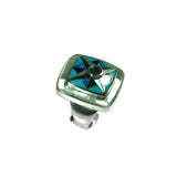 Blue Topaz Kaleidoscope Ring