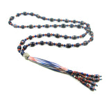 Chevron bead necklace by Kelly Charveaux