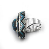 Natural Kingman Turquoise Ring