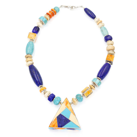 Multi Stone Necklace by Kelly Charveaux