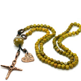 Mala necklace by Kelly Charveaux