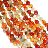 Carnelian Multi Strand Necklace