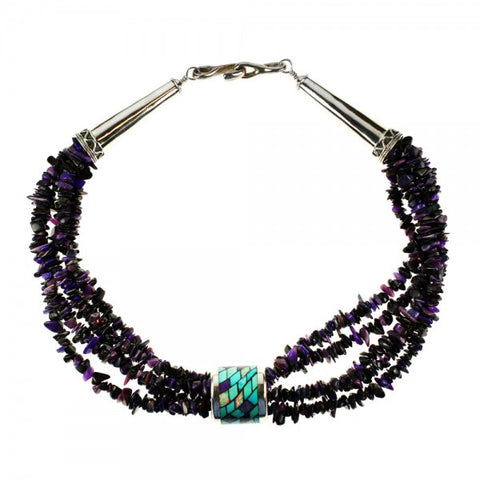 Five Strand Sugilite Necklace