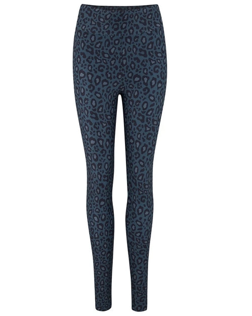 Universe of us navy leopard leggings are available to buy online from Damsel in Chiswick