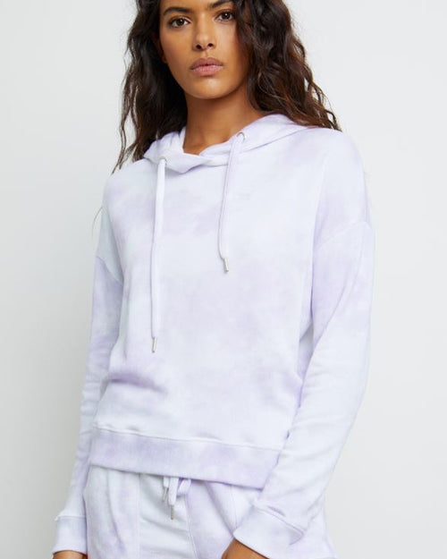 Rails Murray Hooded Sweater - Lavender Tie Dye