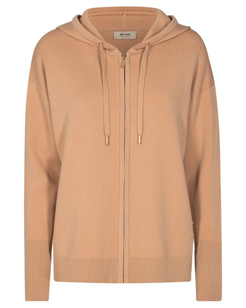 Mos Mosh robyn knit hoodie is available to buy online from Damsel in Chiswick
