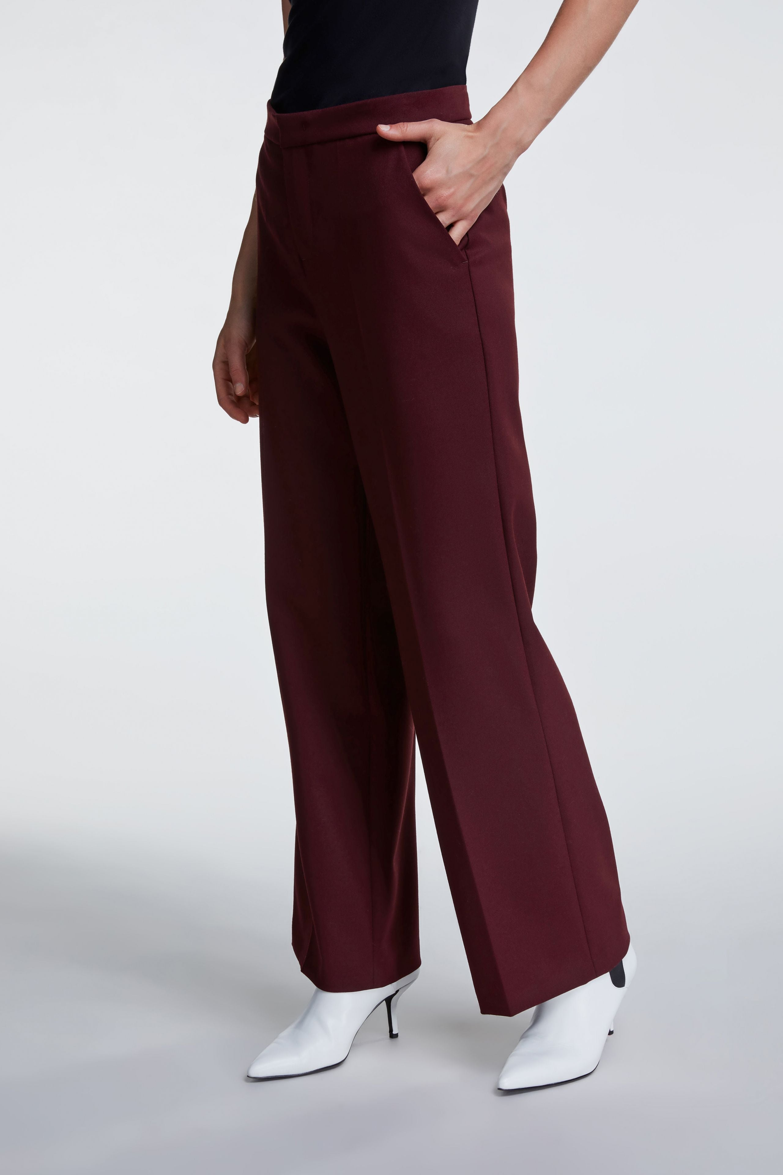 Set wide legged pants from Damsel in chiswick