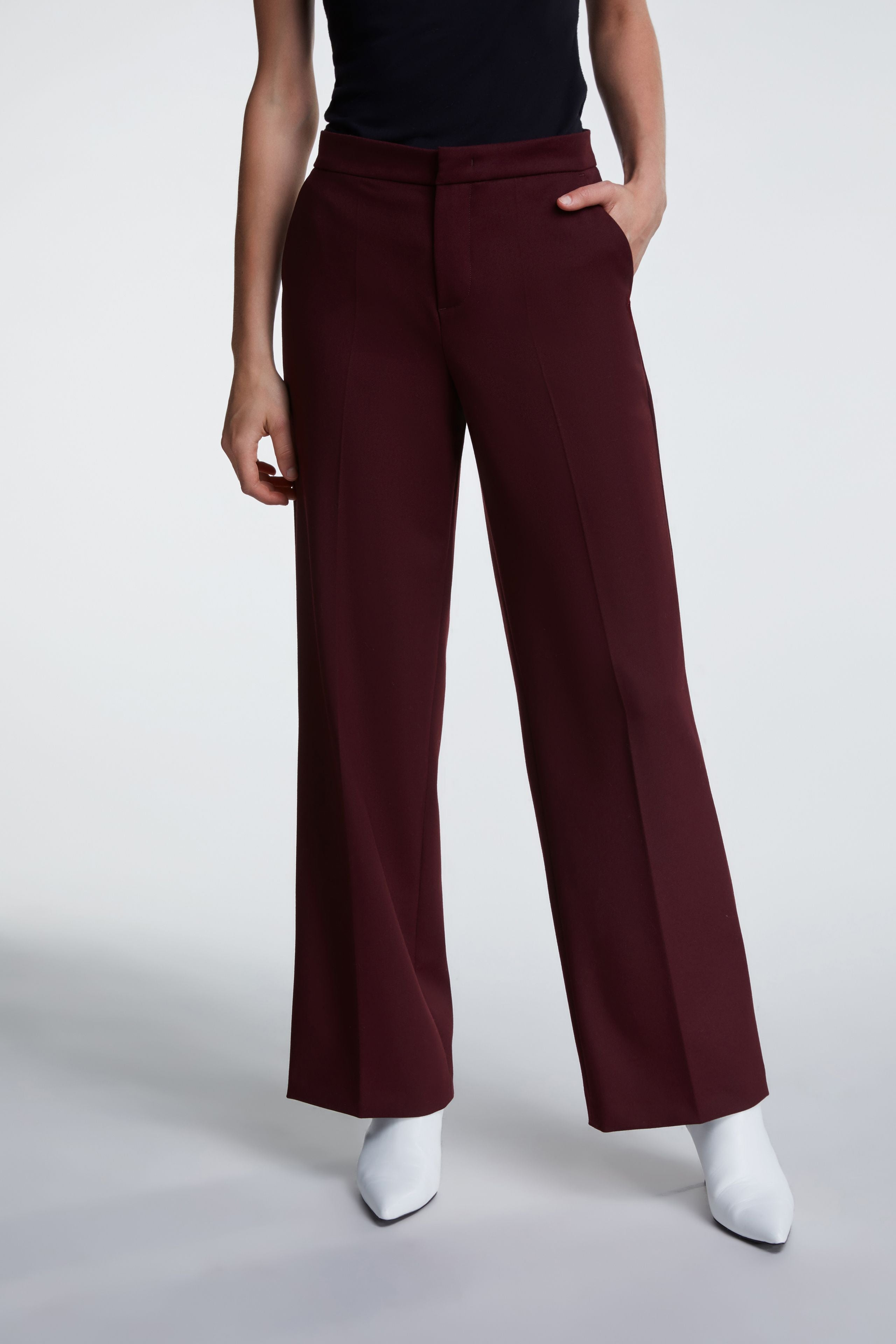 Buy wide leg trousers from Damsel Boutique in Chiswick