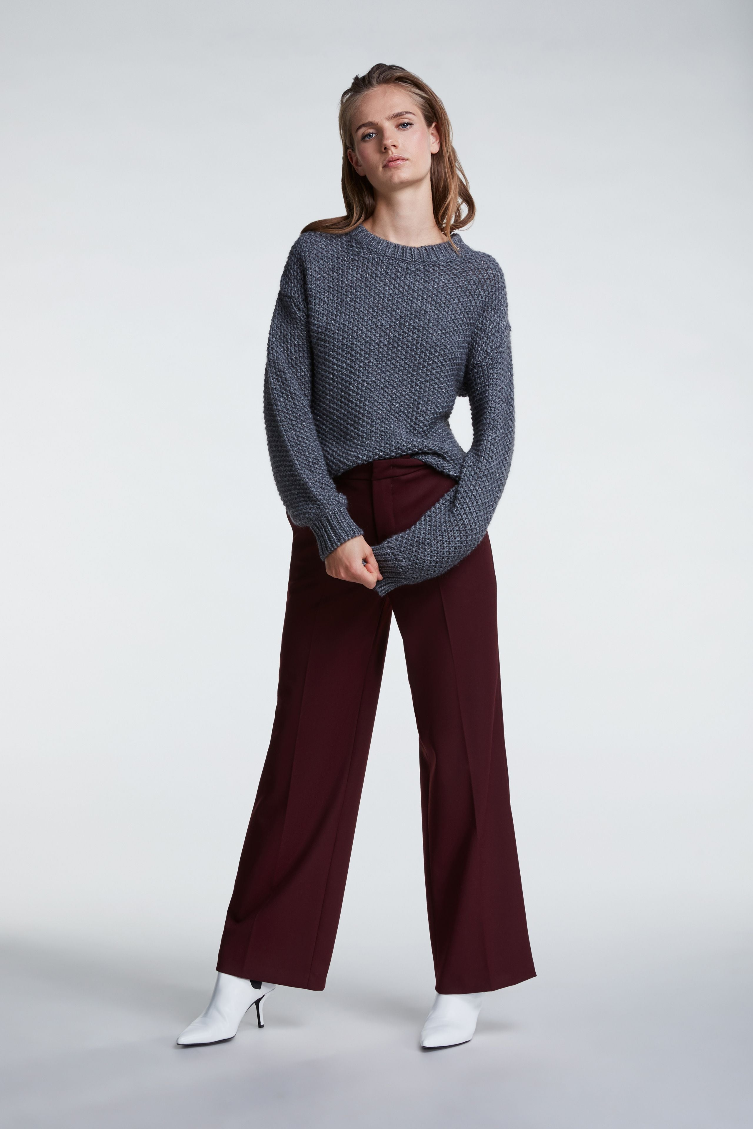 Set trousers are available to buy from Damsel in London