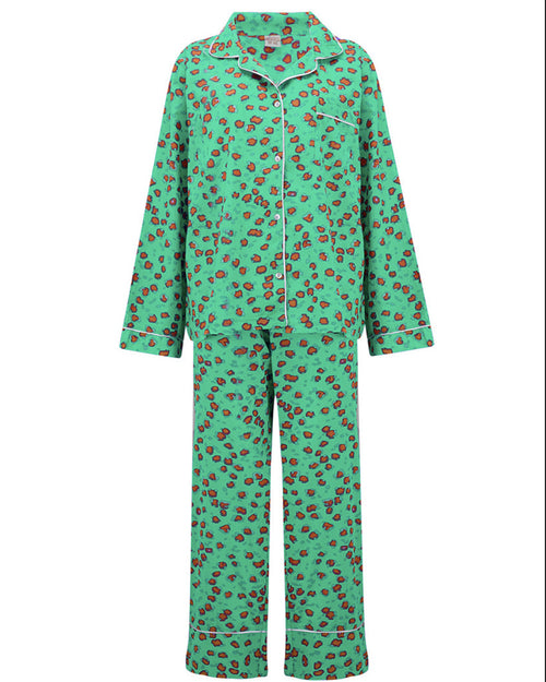 618921fcbc Universe of us green leopard pyjamas are available to buy from Damsel  Boutique in Chiswick