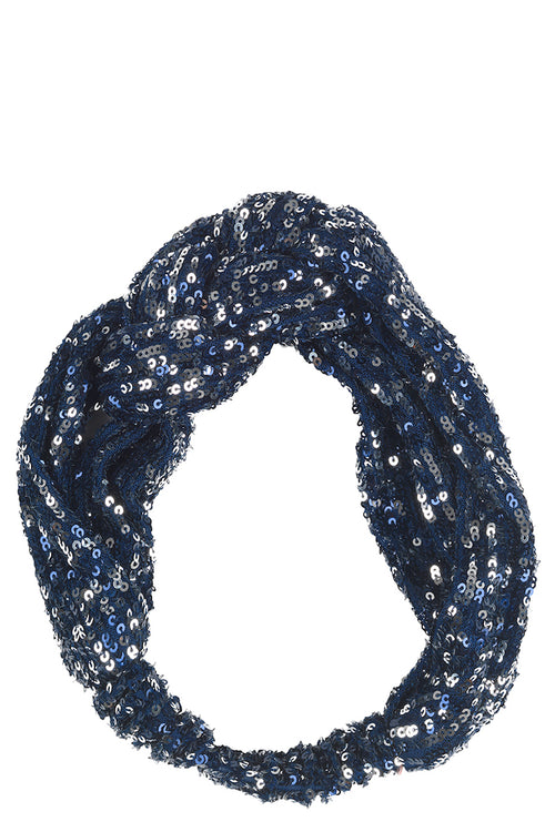 Becksondergaard sequin stretchy hairband available to buy from Damsel in Chiswick