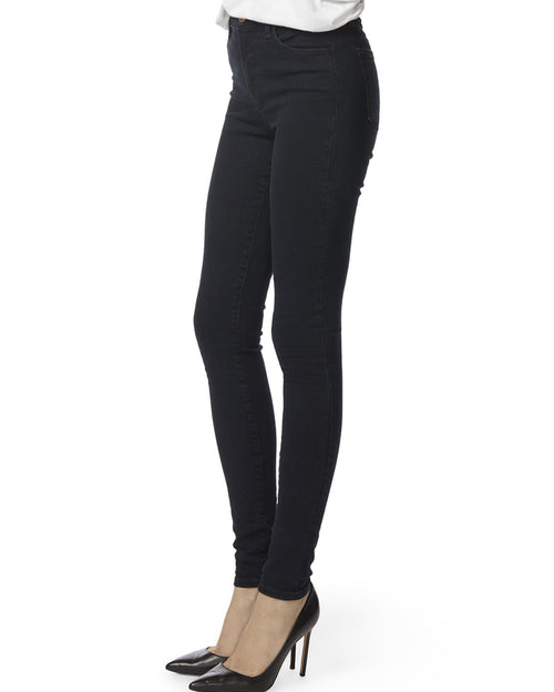 J Brand maria high rise jeans in bluesette deep indigo denim are available to buy online from Damsel in Chiswick