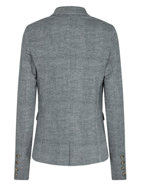 Mos Mosh Blake nora jacket in grey is available to buy fro Damsel in Chiswick