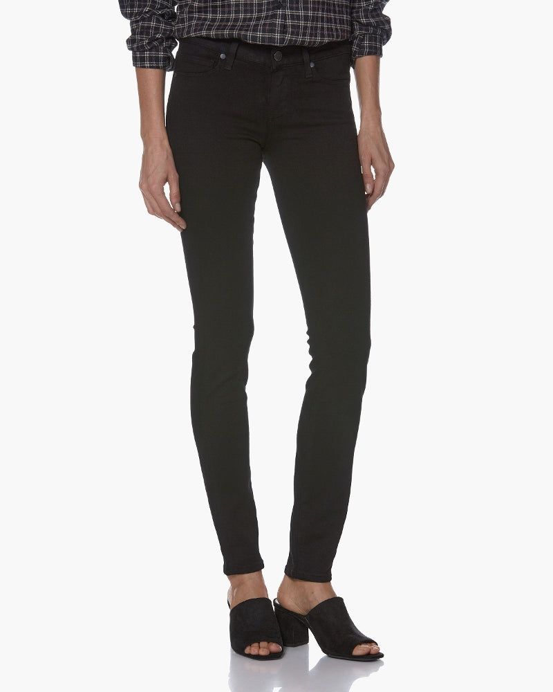 Paige verdugo jeans in black denim are available to buy online from Damsel in Chiswick