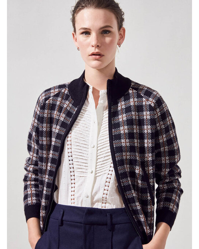 Suncoo gabriel jacket is available to buy online from Damsel in Chiswick