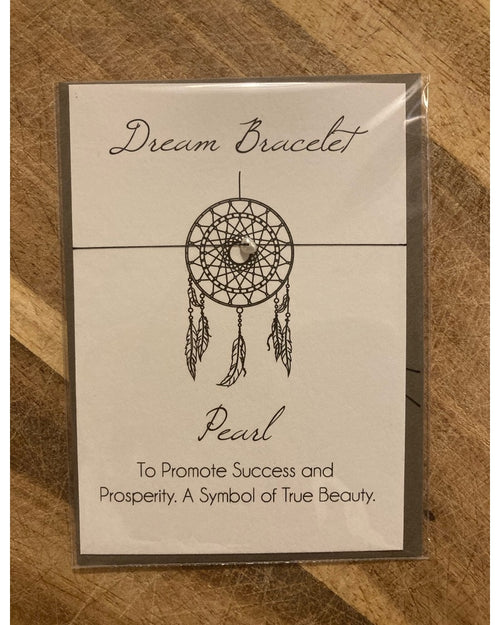 Counting Stars Bracelet Card - Pearl