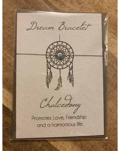 Counting Stars Bracelet Card - Chalcedony