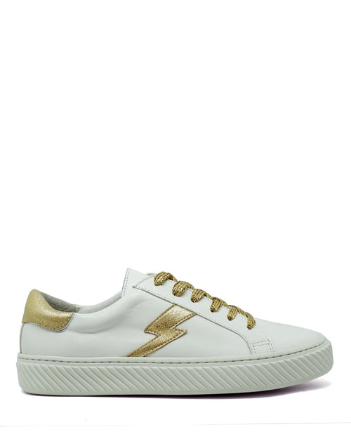 Esska nola trainers in white are available to buy online from Damsel in Chiswick
