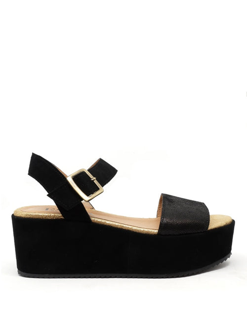 Esska willow sandals in black are available to buy online from Damsel in Chiswick