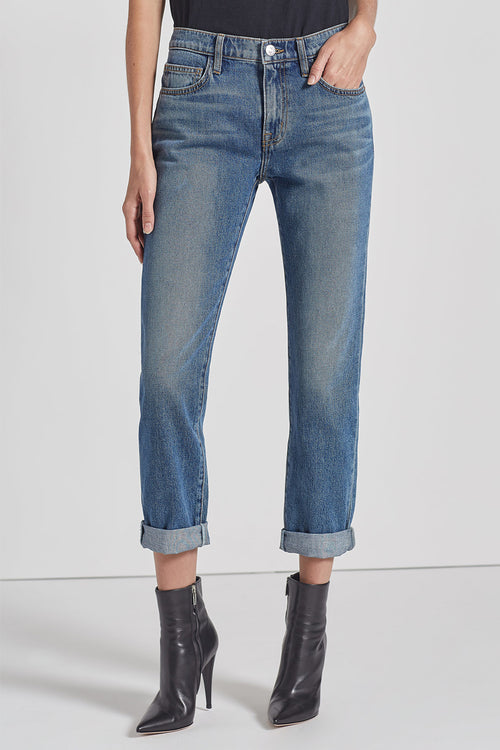 Current Elliott fling jeans in fetzner is available to buy from Damsel in Chiswick