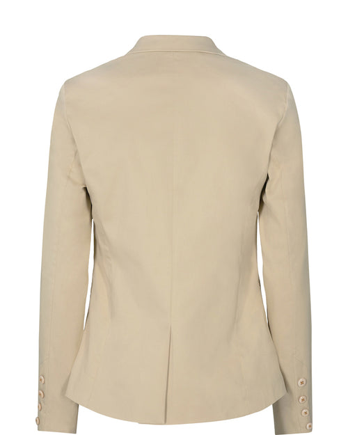 Mos Mosh jacket in classic neutral shade of beige from Damsel in West London