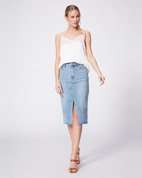 Meadow midi skirt by Paige available to buy from Damsel in Chiswick