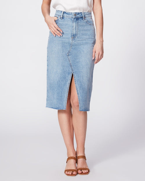 Paige denim skirt from Damsel in Chiswick