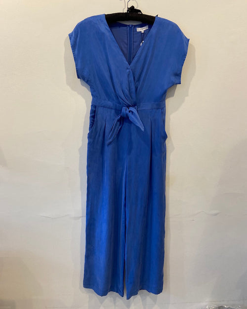 Suncoo full length jumpsuit with pockets is available to buy in store and online from Damsel in Chiswick