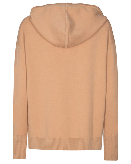 Mos Mosh robyn hoodie in sand is available to buy online from Damsel in Chiswick