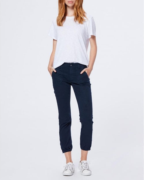 Paige mayslie joggers in navy are available in store and online from Damsel in Chiswick