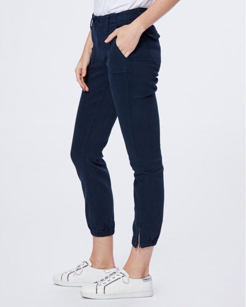 Paige navy mayslie joggers are available to buy online from Damsel in Chiswick