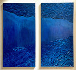MIDNIGHT II - Diptych