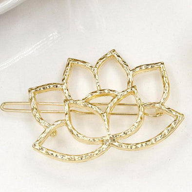 Lotus Flower Hair Pin